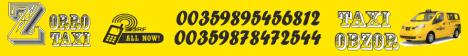 Заказ такси, услуги такси Обзор, Бяла
